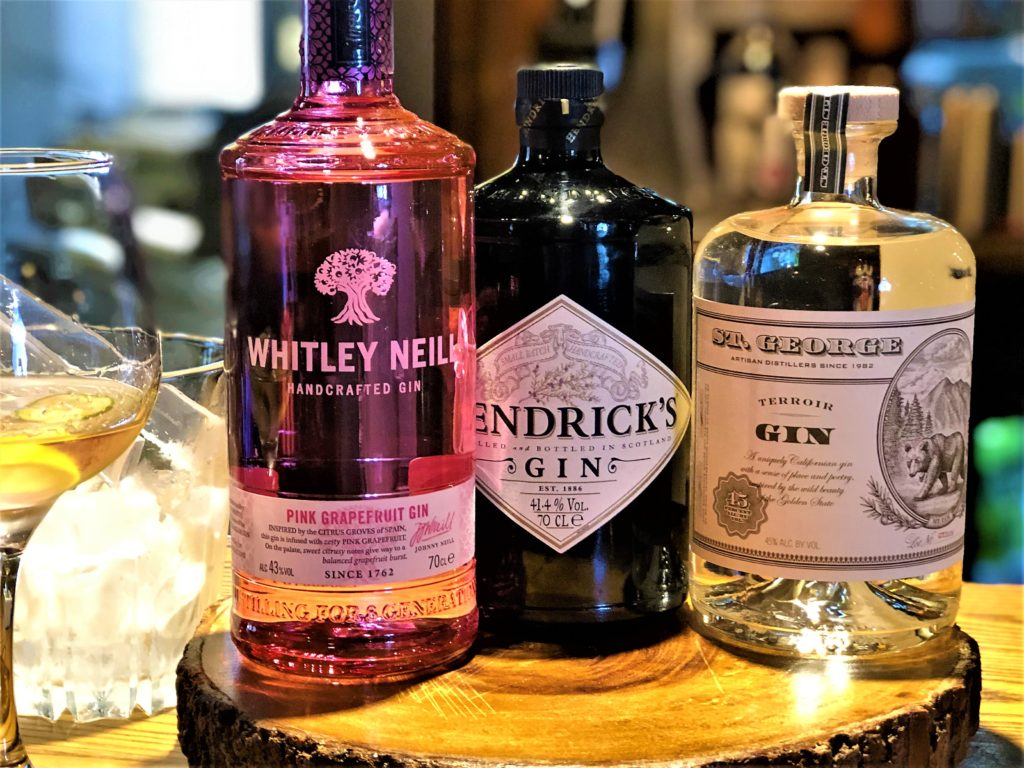 builders arms new barnet pub gin bombay sapphire bloom fever tree tonics whitley neil hendricks