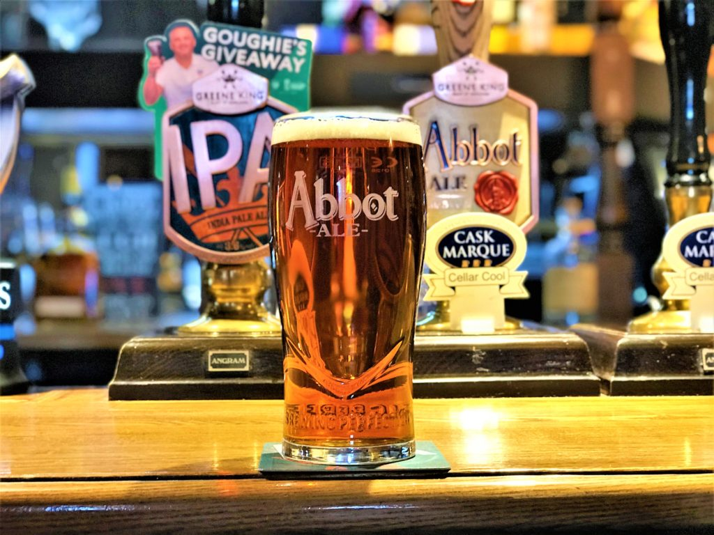 builders arms pub new barnet cask marque accredited greene king IPA Abbot ale